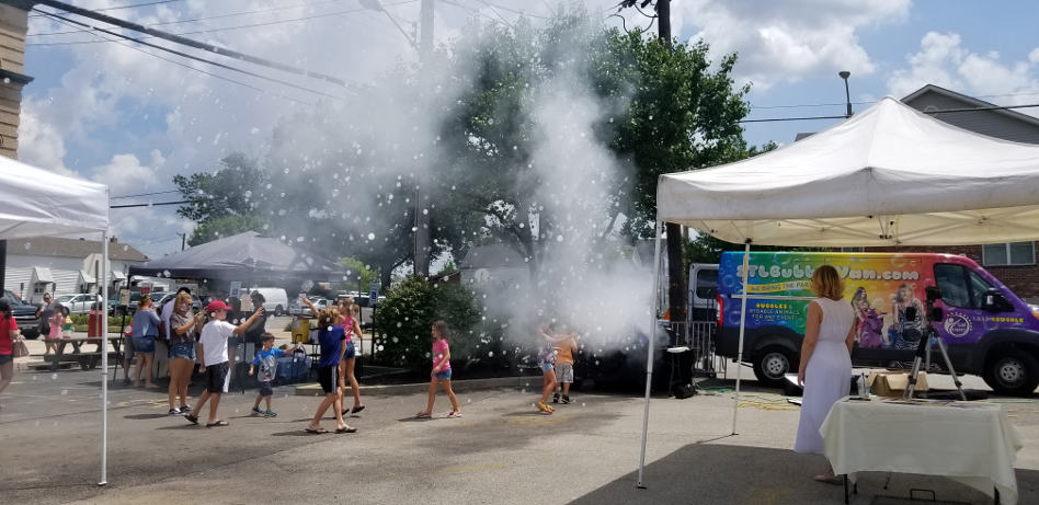 STL Bubble Van offers interactive bubble activities and shows for all ages.