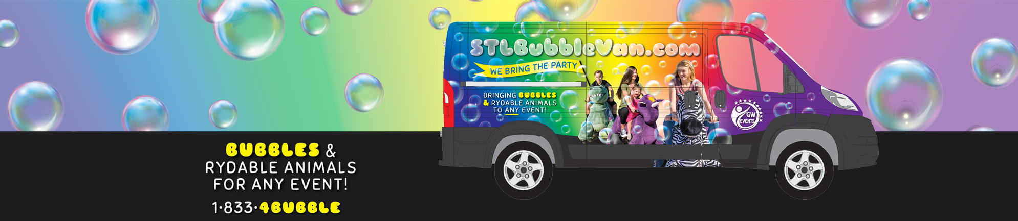 St. Louis Bubble Van and Rydables
